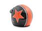 Pilothelm Primo Astro Orange